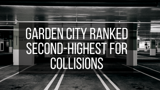 Garden City Ranked Second-Highest for Collisions