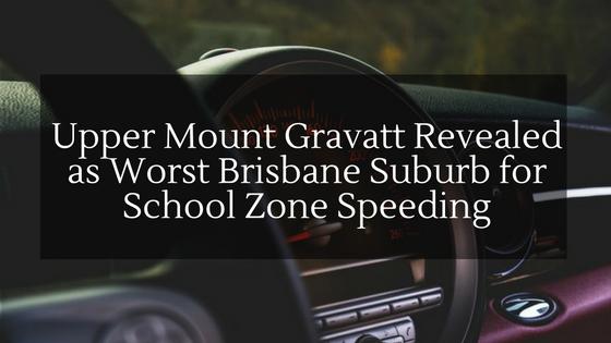 Upper Mount Gravatt Revealed as Worst Brisbane Suburb for School Zone Speeding