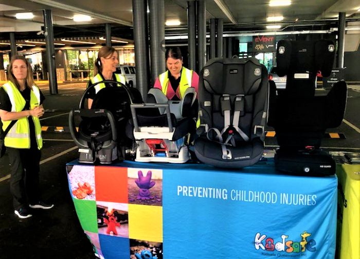 Use of Seatbelts and Child Restraints Promoted at Westfield Garden City Event in Upper Mt Gravatt