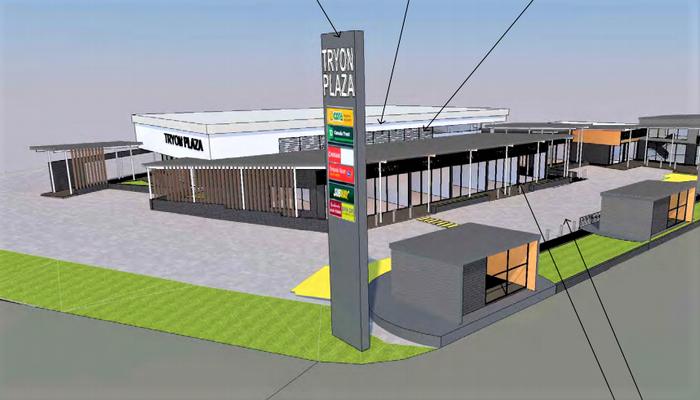 Tyron Plaza Shopping Centre on Tryon Street, Upper Mount Gravatt  Development Application Lodged