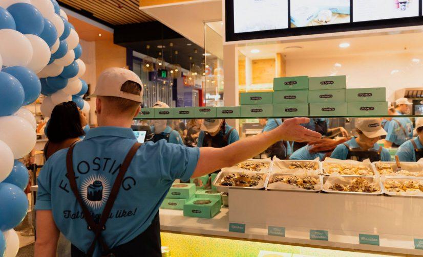 Mouthwatering Cinnabon Opens New Brisbane Store in Mt Gravatt